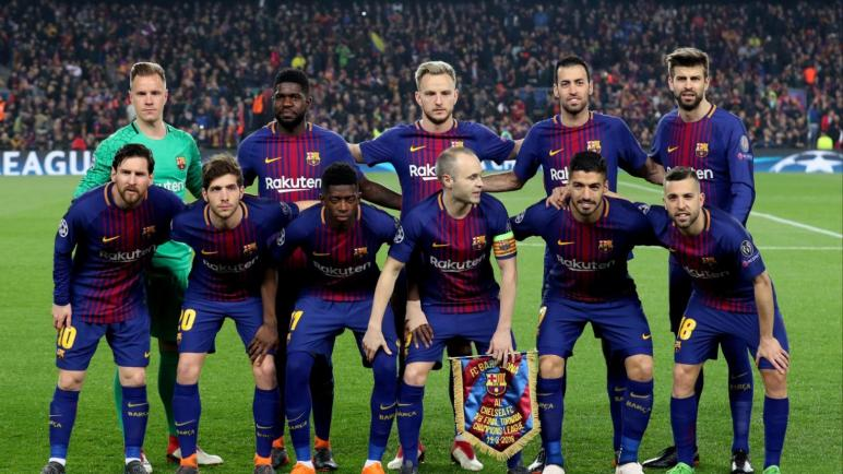 11 لاعبا من برشلونة في دائرة الشك
